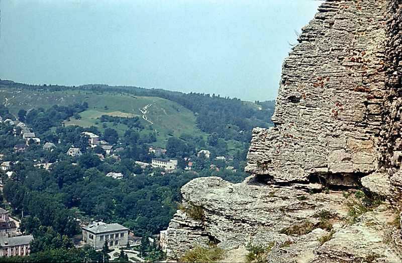 1977 р. Вид на центр міста з вершини…