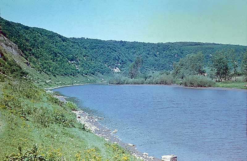 1978 р. Збруч проти с.Милівці. Вигляд зі сходу