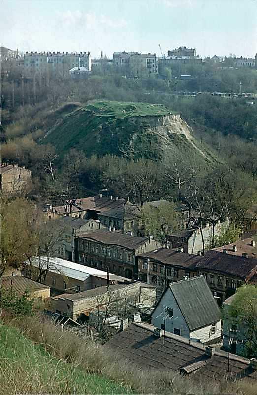 1978 р. Загальний вигляд гори Клинець…
