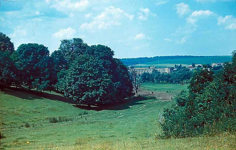1977 р. Краєвид з видом на замок