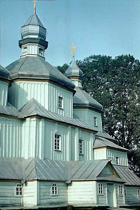 1985 р. Нава і вівтар. Вигляд з південного заходу