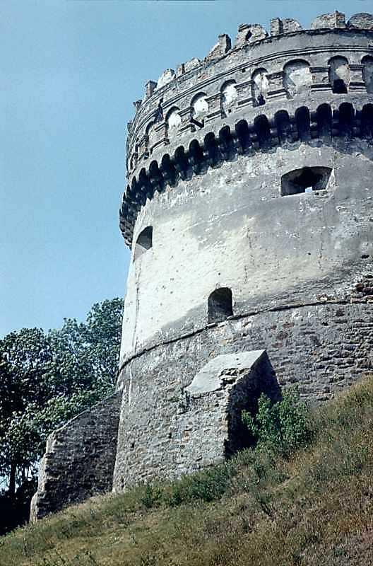 Кругла башта замку в Острозі - вигляд…