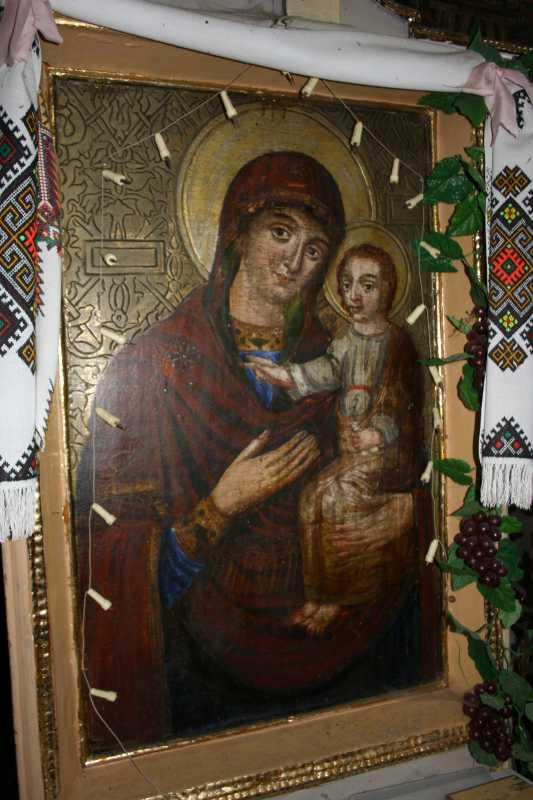 Ікона намісного ряду «Богородиця…