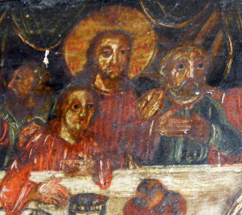 Середня група із Христом
